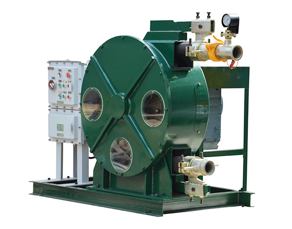 WH76-770B Hose Pump for Oil Sludge and Slurries