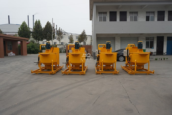 Cement grout mixer machine for sale in Thailand